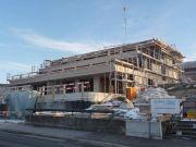 Terrassenhaus Baufortschritt